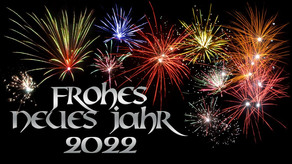 Frohes neues Jahr 2022 (silber)