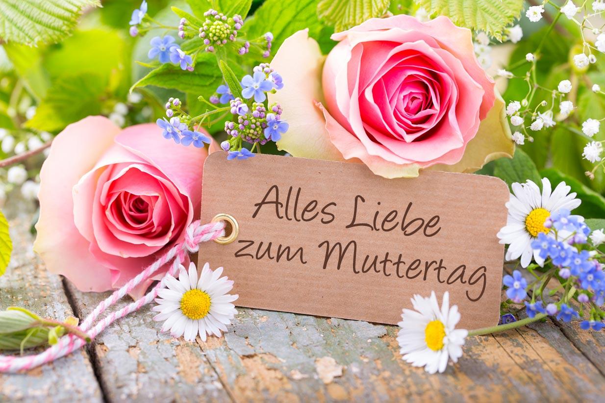 Muttertag – offizieller Ehrentag der Mütter 🌹