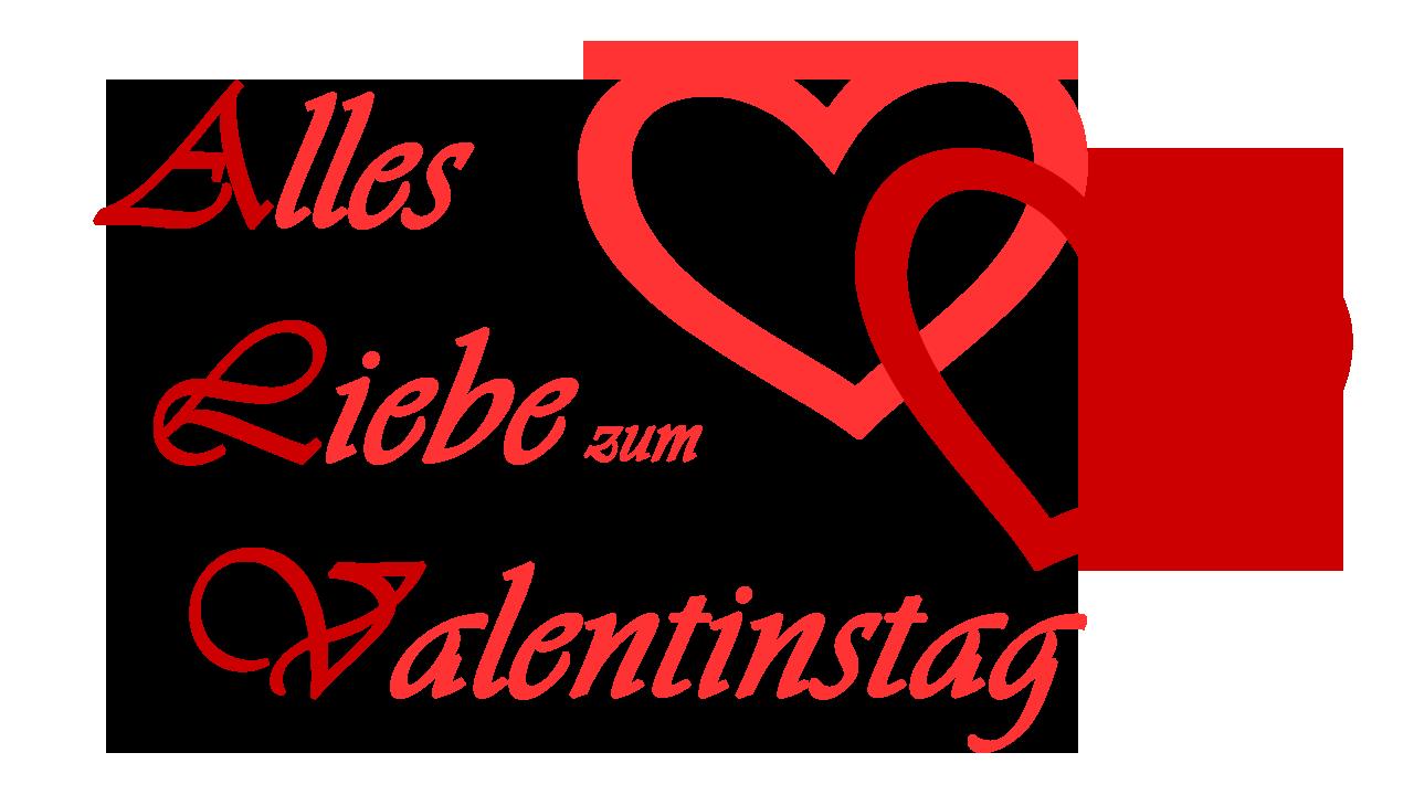 Alles Liebe zum Valentinstag, zwei Herzen