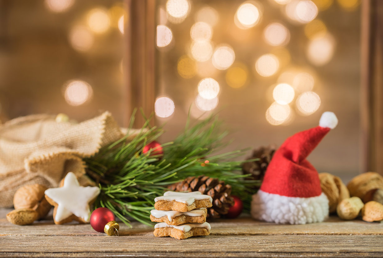 Weihnachten Weihnachtskarte Nikolaus